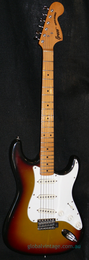 Greco Japan `77 SuperSounds Strat type